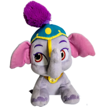 Disney Palace Pets Taj Elephant Plush Princess Jasmine Purple Dumbo Stuf... - $21.73