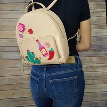 NWT! Kate Spade Cactus Tomi New Horizons Cashew Leather Backpack WKRU529... - $200.00
