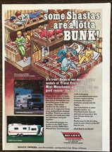 1979 Shasta Travel Trailers Mini Motor Homes Ad Some Shastas Are A Lotta... - $11.89