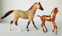 Breyer Running Wild Horse 62204 Ruffian Mare Red Roan & Chestnut Pinto F... - $33.85