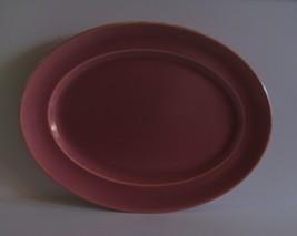 """Homer Laughlin WELLS ART GLAZE Rose Platter 13"""" - $47.50"""