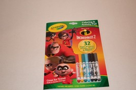crayola coloring and activity pad Incredibles 2 - $9.75
