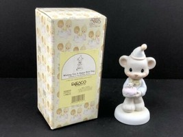 "Precious Moments Birthday Series ""Wishing You A Happy Bear Hug"" 520659, ... - $13.64"