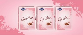 [Pack Of 3] Fazer Geisha Milk Chocolate with Hazelnut Filling from Finland - Eac - $26.72
