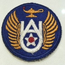 Original Wwii U.S. Army Air Force Air University Color Cut Edge Patch WW2 - $12.19