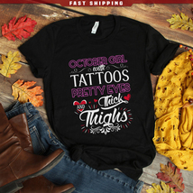 October girl with tattoos pretty eyes and thick thighs - $21.95+