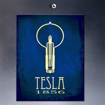 "SteamPunk ART ""Tesla 1856"" HD print on canvas huge wall picture 20x16"" - $16.82"