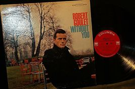 Robert Goulet -  Without You AA20-RC2104 Vintage image 3