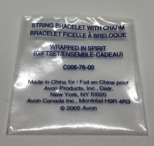 Avon mark. Karmala Wrapped in Spirit String Bracelet with Charm - New! image 3