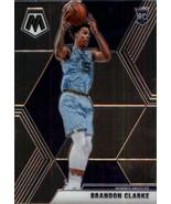 2019-20 Panini Mosaic #207 Brandon Clarke NM-MT RC Rookie Grizzlies - $3.00