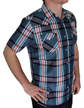 BRAND NEW LEVI'S MEN'S CLASSIC CASUAL PEARL BUTTON UP PLAID SHIRT 3LYSW6062-TUR image 2