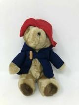 "Paddington Bear Darkest Peru to London - Vintage 1975 1981 Tag - 9"" Eden Toy - $9.58"
