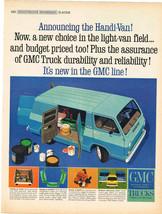 Vintage 1964 Magazine Ad GMC Handi-Van Assurance Of Durability And Reliability - $5.93