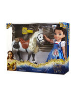 Disney Beauty and the Beast Belle and Philippe Doll with horse Jakks Pac... - $110.00