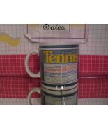 Tennis Quotes Mug 1980s - $7.20