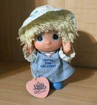 """Enesco Precious Moments Collection Hi Babies Doll, """"You're The Greatest"""" - $4.90"""