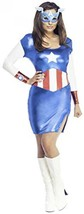 Rubie's Adult Marvel American Dream Costume Dress Size Extra Small - $16.45