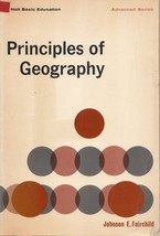 Principles of Geography by Johnson E. Fairchild - $14.99