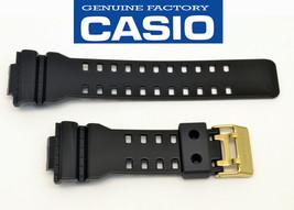 Casio  Watch Band G-Shock BLACK Shiny Strap Rubber GA-110GB GD-100GB GAC... - $44.95