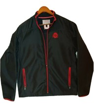 Men's Ohio State Varsity Authentic Apparel Jacket - Black w/ Red Trim - Large - $45.00