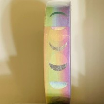 SEALED Papergeek SOLDOUT ONE ROLL RAINBOW MOON PHASE FOIL Washi Tape 33'