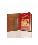 Visconti Soft Leather Secure RFID Blocking Passport Cover Wallet POLO 22... - $26.99
