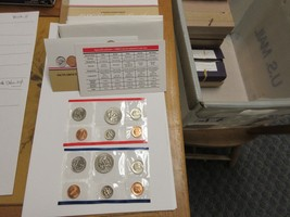 1986 , United States Mint , Uncirculated Mint Set , Lot of 5 Sets - $59.40
