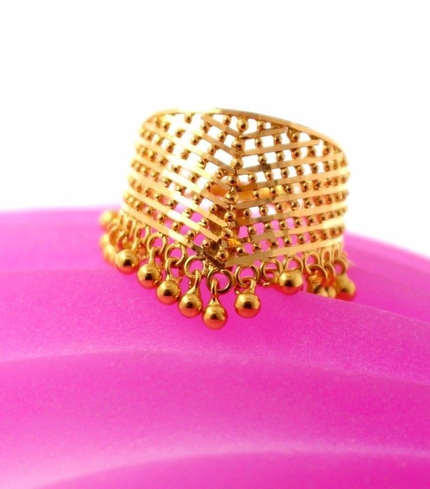 22 K Yellow Gold Beautiful Hand Craved Charm and 50 similar items