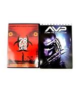28 Days Later and Alien VS Predator DVDs Wide Screen Edition Horror Movi... - $14.01