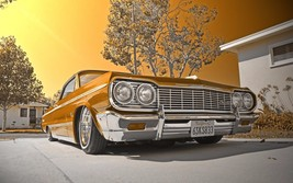 1964 Chevy impala lowrider | 24 x 36 INCH POSTER  | sports car - $18.99
