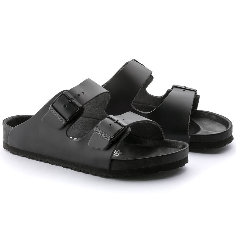AUTHENTIC BIRKENSTOCK MONTEREY EXQUSITE BLACL LEATHER SANDALS SIZE MENS 42.