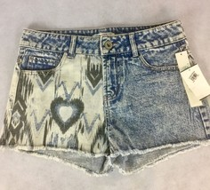 Women's NWT Love Fire Jean Acid Wash Distressed Shorts Size 3 Nordstrom ... - $14.03