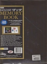 Pioneer Easy Load Memory Book 12 X 12 Pages 10 Double Side Pages Acid Free - $11.87