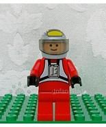 LEGO STAR WARS #6208 Rebel Pilot B-wing Minifig Light Flesh - $14.50