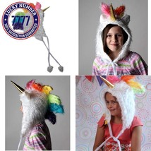 Storybook Wishes Plush Soft Fuzzy Unicorn Child/Teen Hat (Choose Color) - €24,11 EUR