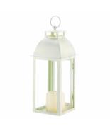 Distressed Ivory Candle Lantern - $23.00