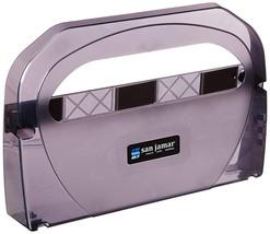 San Jamar TS510TBK Toilet Seat Cover Dispenser, Black Pearl - $31.38