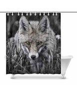 InterestPrint Cool Fox Animal Art House Decor Shower Curtain for Bathroo... - $37.61