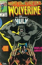 1990 Marvel Comics Presents #60 Wolverine and the Incredible Hulk - $1.98