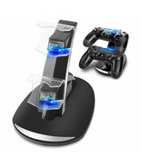 PS4 Dual Controllers Charger Charging Dock Stand Station For Sony PlaySt... - $10.29
