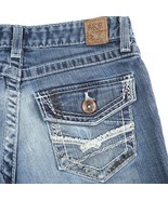 BKE Denim Stella Distressed Medium Wash Boot Cut Stretch Jeans Womens 25... - $34.57