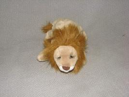 "DAKIN LOU RANKIN STUFFED PLUSH BEAN BAG LION DOLL TOY 8"" - $18.21"