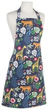 Now Designs 2500129aa Basic Cotton Kitchen Chef's Apron, Wild Bunch Print - $19.63