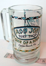 Ron Jon Surf Shop Drink Stein Cocoa Beach Florida Vintage Souvenir - $26.24