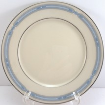 """Lenox Courtland Bread and Butter Plate Blue Band Platinum Trim 6.5"""" - $8.91"""