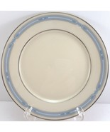 "Lenox Courtland Bread and Butter Plate Blue Band Platinum Trim 6.5"" - $8.91"