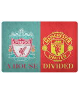 Manchester United Liverpool FC Front Porch Housewarming Welcome Doormat - $32.62
