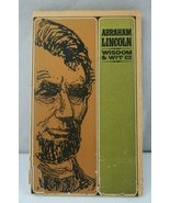 Abraham Lincoln Wisdom & Wit Illustrated by Jeff Hill Peter Pauper Press - $9.00
