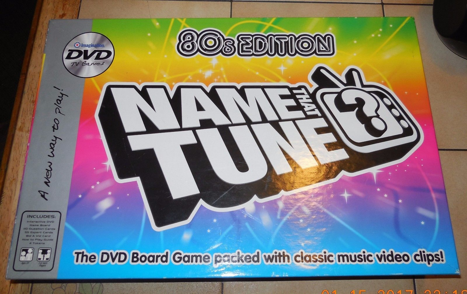 Primary image for 2005 Name That Tune 80's Edition DVD Game 100% Complete