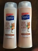 2-Suave Body Wash Cocoa Butter & Shea 15oz Each - $7.92